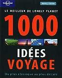 1000 idées de voyages