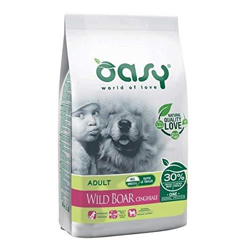 Oasy Dry Dog OAP Adult Cinghiale monoproteico Cane Secco 205kg 8053017345697, Multicolore, Unica