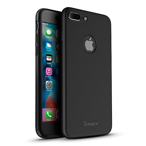IPAKY® ORIGINAL CASE Cover Ultra-Thin TPU 360º Schutz FÜR iPhone 8 (4,7