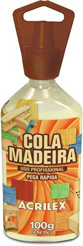 Cola Para Madeira Uso Profissional 100G Pct.C/03 Acrilex