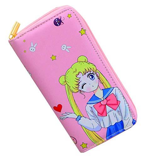 Kerr's Choice Small Wallet Sailor Moon Coin Purse Card Holder Organizer | Sailor Moon Gift Accessories