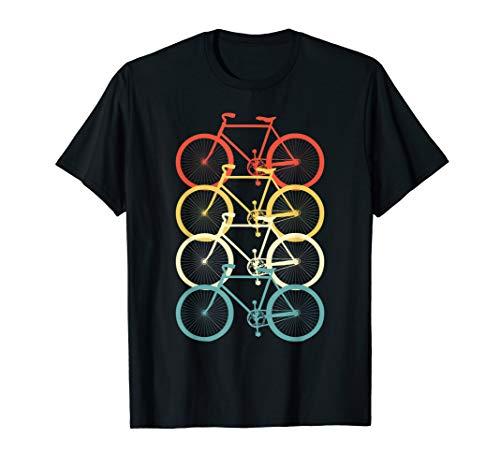 Vintage Bicycle Cycling Rad Fahrer Geschenk - Retro Fahrrad T-Shirt