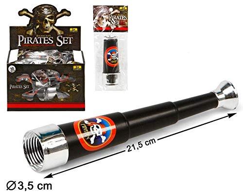 Atosa- EXP.30 CATALEJO EN BOLSA PIRATA 22X15CM, Multicolor (26630)