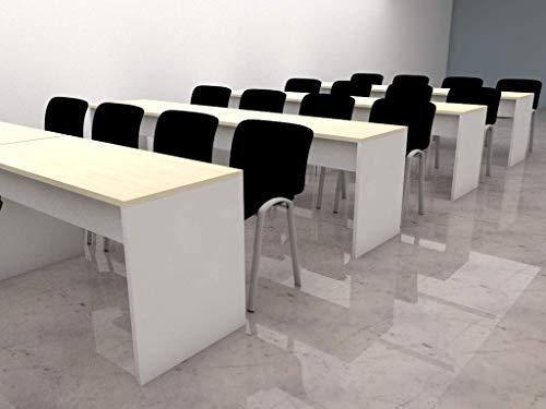 MESA DE FORMACIÓN. Mesas de gran calidad, robustas en madera bimelaminada, ideal para oficinas escuelas academias aulas reuniones ⭐