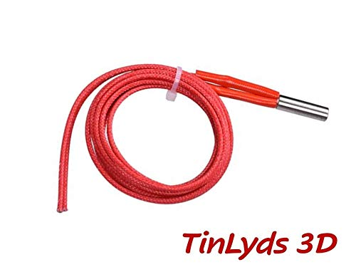 1x 24v 40w heater cartridge cable for hot end CTC MAKERBOT WANHAO,3d printer parts