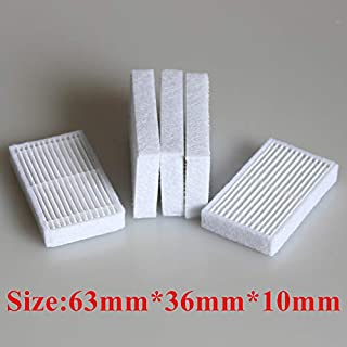 JangGun Store 5 Pieces/lot Robot Vacuum Cleaner Parts HEPA Filter for haier Xshuai T370 KK320-BG T350B j3500 SWR-T320S Filters Accessories