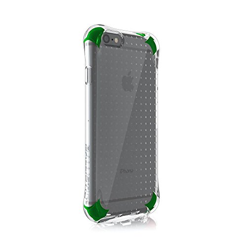 Ballistic, iPhone 6 Case / 6s Case [Jewel Spark] 6ft Drop Test Certified Case Protection [Clear / Green] Reinforced Bumper Cell Phone Case for Apple iPhone 6 / 6s - Clear / Green
