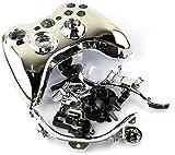 Einuz Carcasa de repuesto para mando Xbox 360 inalámbrico, compatible con carcasa protectora incluye destornillador T8 T6