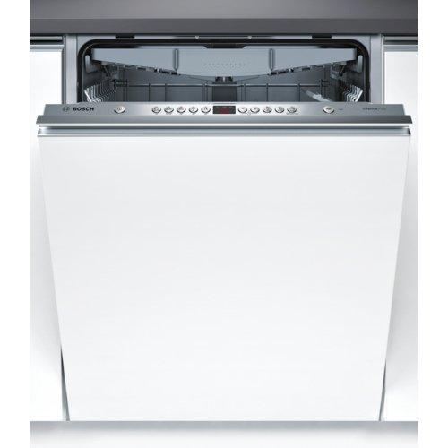 Bosch Serie 4 SMV45EX00E Totalmente integrado 13 cubiertos A++ lavavajilla - Lavavajillas 60 cm, Acero inoxidable, Botones, Frío, 13 cubiertos