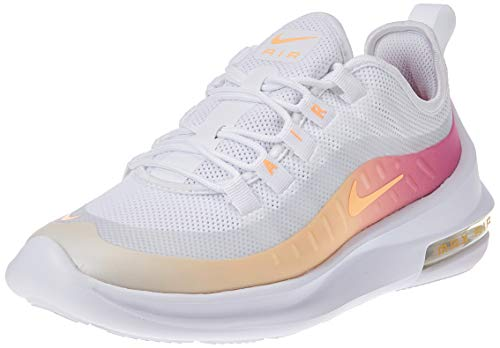 Nike Damen WMNS Air Max Axis Prem Leichtathletikschuhe, Mehrfarbig (White/Melon Tint/Laser Fuchsia 000), 40 EU