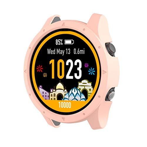 Lowest Prices! Compatible with Garmin Forerunner 935 Case Cover, Tuscom Soft TPU Shockproof Protecti...