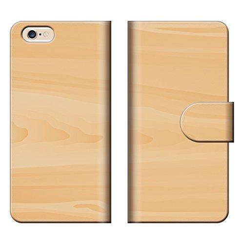 スマートフォンケース スマホケース 【 iPhoneSE アイフォン SE 専用 】 木 木目 ウッド ストライプ 肌色 ...