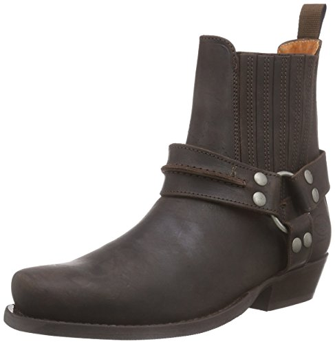 Dockers by Gerli Herren 170102-007020 Cowboy stiefel, Braun (Cafe 020), 43 EU