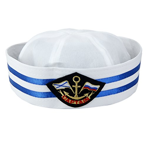 Generic Marin Chapeau Capitaine Casquette de Bateau Accessoire de Déguisement - # 3
