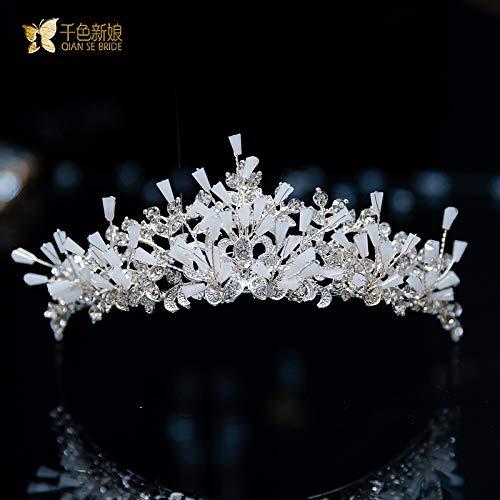 don997gfoh08yewi Duizend kleuren, bruidsjurk Koreaanse sieraden haar accessoires 2019 nieuwe bruiloft accessoires Ling QiuZhurou