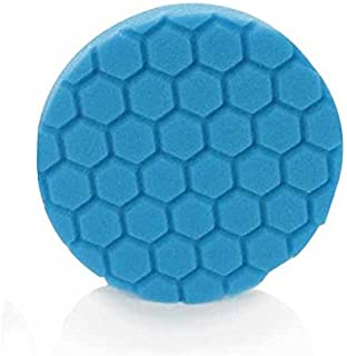 Chemical Guys BUFX_105_HEX5 Hex-Logic Light Polishing/Finishing Pad, Blue (5.5 Inch)