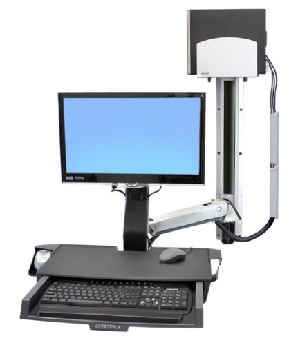 Ergotron StyleView Sit-Stand Height Adjustable Universal Desk Mount