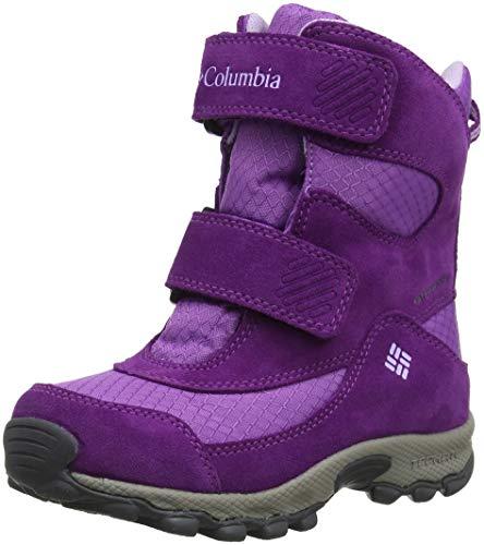COLUMBIA Mädchen Multisportschuhe, Wasserdicht, CHILDRENS PARKERS PEAK BOOT, Violett (Crown Jewel, Phantom Purple), 26