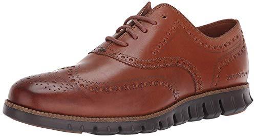 Cole Haan Herren Zerogrand Wingtip Oxfords, Braun (British Tan Leather/Java British Tan/Java), 41.5 EU