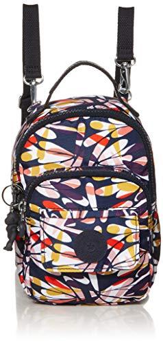 Kipling Alber 3-in-1 Convertible Minibag Rucksack, Retro-Blumenmuster (mehrfarbig) - null.list