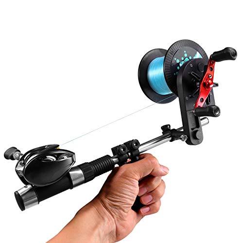 THKFISH Máquina para Bobinadora de Línea de Pesca, Carrete de Pesca de...