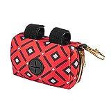 Y-POWER Dispensador portátil de bolsas de caca de perro para limpieza de residuos caja de basura cachorro recogida bolsas titular suministros al aire libre