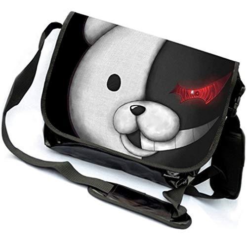 yoyoshome Anime DANGANRONPA Cosplay Messenger Bag Umhängetasche Handtasche Umhängetasche Rucksack Schultasche
