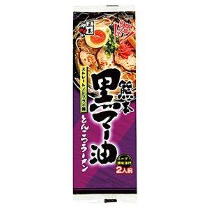 五木食品 熊本黒マー油とんこつラーメン 172g×20/箱〔ケース〕