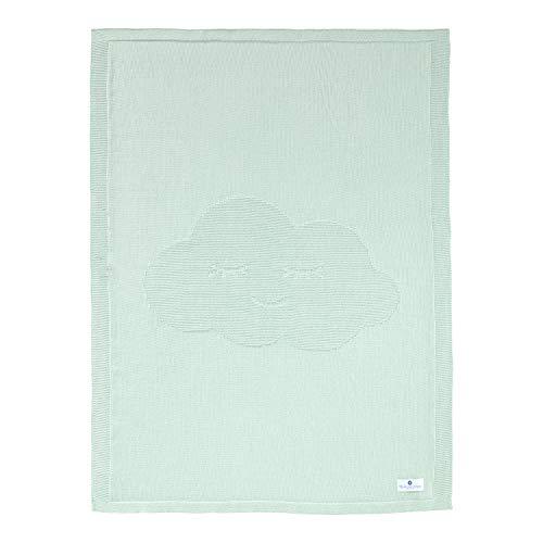 Nordic Coast Couverture Bebe 100x70cm | Couverture Laine & Couette Bebe idéale comme Cadeau Naissance | Couverture Bebe Garçon & Fille | 100% Coton