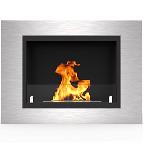 "Regal Flame Venice 32"" Ventless Built In Wall Recessed Bio Ethanol Wall Mounted Fireplace Better than Electric Fireplaces, Gas Logs, Fireplace Inserts, Log Sets, Gas Fireplaces, Space Heaters, Propane"