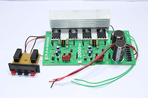200 WATT RMS 4 MOSFET Amplifier Board Without BASS Treble Board, 2...