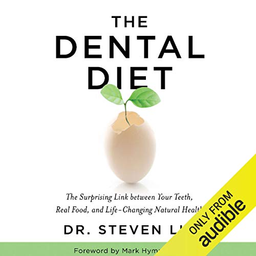 Diseño de la portada del título The Dental Diet