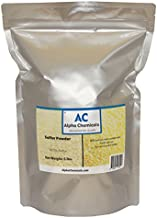 Sulfur Powder (Brimstone) - 99.5% Pure - 5 Pounds