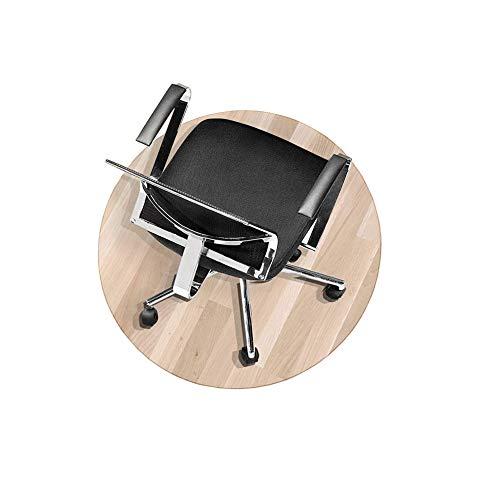 Zinn Transparente stabile Stuhlmatte, rutschfeste Bodenmatte, PVC-Bodenabdeckung, Büromatte für Rollstuhl/Rollstuhlmatte, Bodenschutzmatte, zuschneidbar