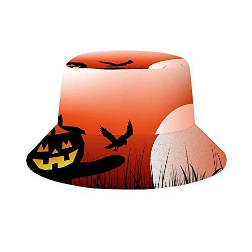 Henry Anthony Halloween Vogelscheuche Hintergrund Vektor Bild Fischer Hut Eimer Hut Outdoor Cap Umkehrbar zum Angeln Strand Wandern