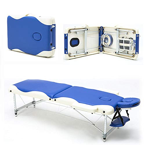 Lowest Prices! Portable Folding Massage Bed with Rucksack Wooden Bed Foldable Beauty Massage Bed