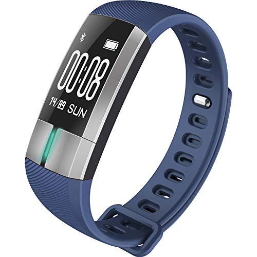 TTLOVE Fitness Tracker,Smartwatch Wasserdicht Fitness Armband mit Pulsmesser Farbbildschirm Aktivitätstracker Pulsuhren Schrittzaehler Uhr für Damen Herren