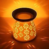 CMXING Diffusore Ceramica Diffusore a Candela, Lampada profumata Ceramic Scent Burner Arom...