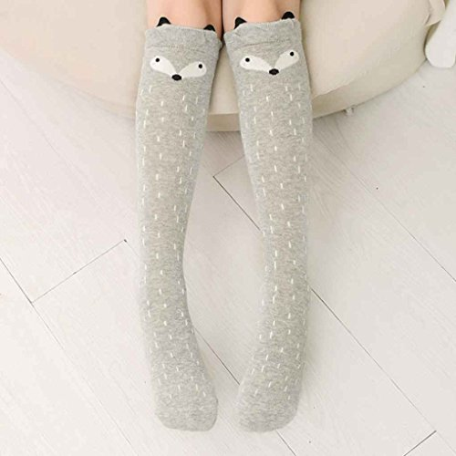 Guangcailun Cartoon Kleinkind-Baby-Kind-Mädchen-Kind-Kniestrümpfe Höhen dünn Mid-Wadenlänge Strumpf Socken Legging dünne Strumpfhose-Hosen