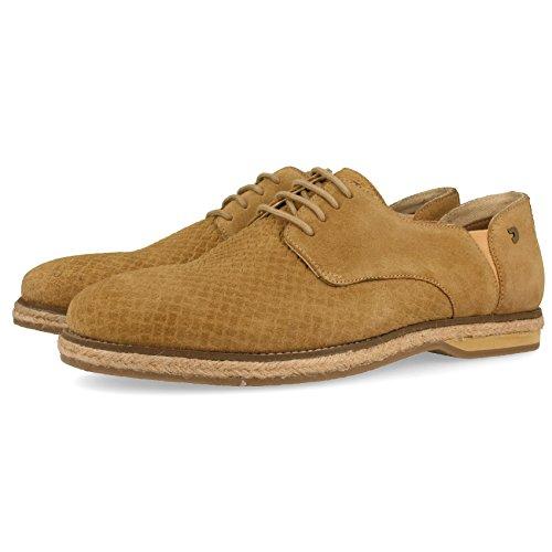 Gioseppo 43598, Zapatos de Cordones Derby Hombre, Marrón (Camel), 40 EU
