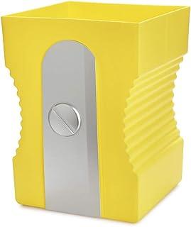Balvi Papelera Sharpener Color Amarillo Papelera con Forma