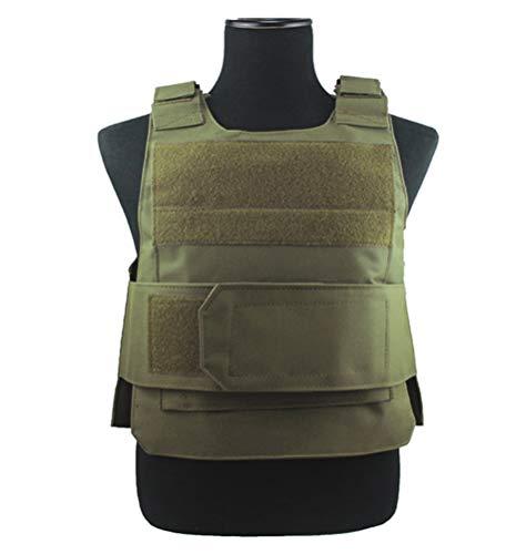 ThreeH Gilet Tactique Vêtements de Protection Équipement d'entraînement Militaire extérieur pour Adultes SA0402A