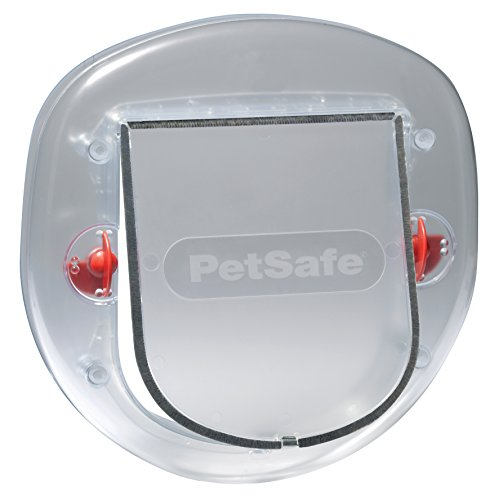 PetSafe Staywell Big Cat/Piccolo Cane, glassato, Facile da installare per Porte scorrevoli in Vetro