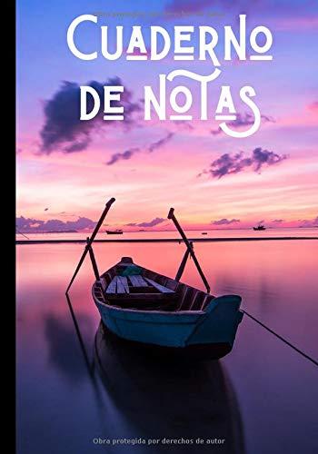 Cuaderno de notas: Diario del navegante - recuerdos de las vacaciones - regalo ideal para los amantes de los paisajes marítimos| 100 páginas en formato 7*10 pulgadas