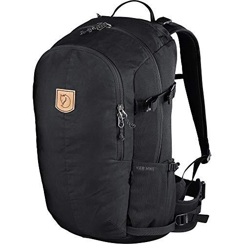 Fjallraven Unisex's Keb Hike 30 Backpack, Black, OneSize