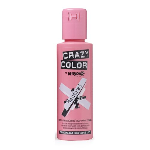 Crazy Color Neutral Nº 31 Crema Colorante del Cabello Semi-permanente