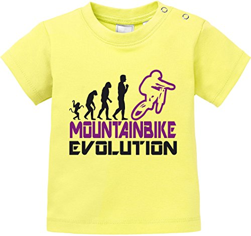 EZYshirt® Mountainbike Evolution Baby T-Shirt