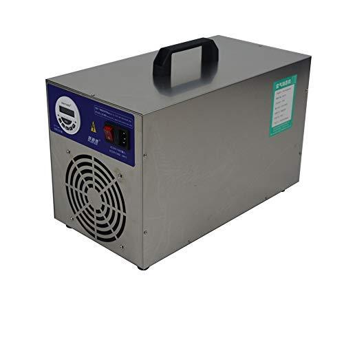 Generatore di Ozono Display LCD Sull'ozono Interruttore Orario, Purificatore d'Aria Ozono con Timer, 30000Mg / Ora Sterilizzatore A Ozono Disinfezione (30G)