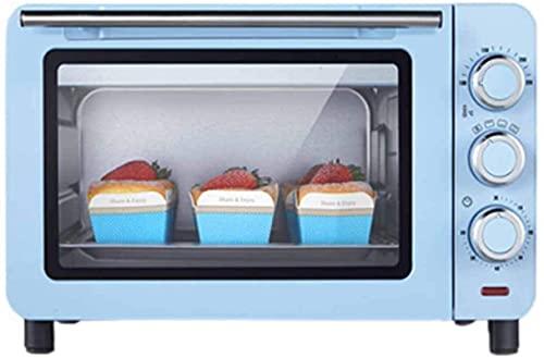 15L Mini horno, con convección Horno de tostadora 1200W Horno eléctrico pequeño Multi-capa