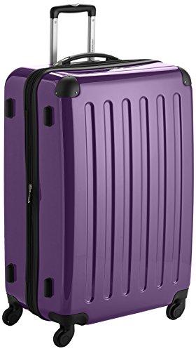 HAUPTSTADTKOFFER - Alex - Set di 3 valigie (S, M & L), 235 litri, Colore Viola